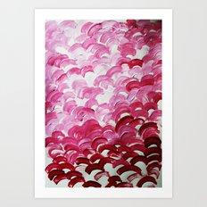 feelin in love Art Print