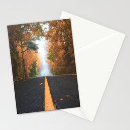 Road sweet road Stationery Cards