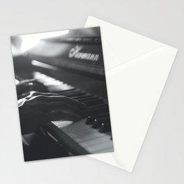 Sad Piano Stationery Cards