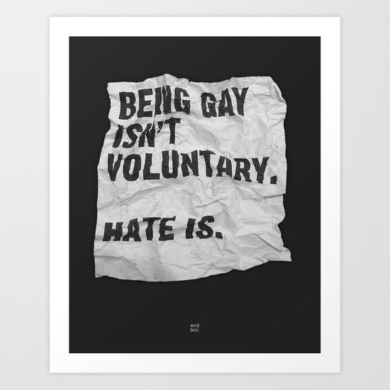Voluntary Art Print