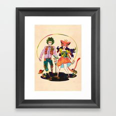 LSD love Framed Art Print