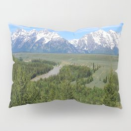 Snake River And The Grand Tetons Pillow Sham