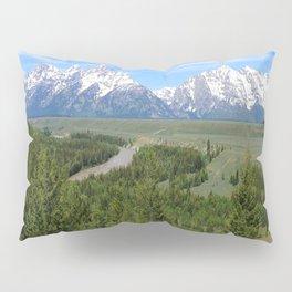 Snake River And The Grand Tetons Pillow Sham