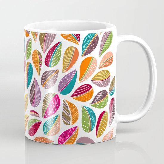 Leaf Colorful Mug