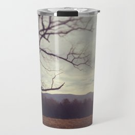 Golden Mountains Travel Mug