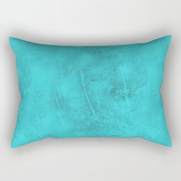 Metal Blue Turquoise Background Rectangular Pillow