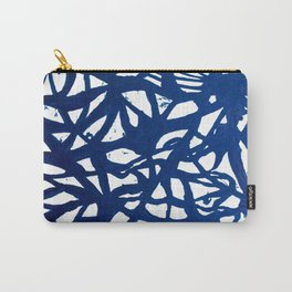 Blue Squiggles Carry-All Pouch