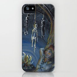 GrimmSeries4 - Learn to fear iPhone Case