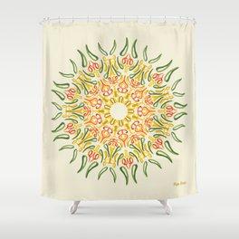 Cooper (crudo) Shower Curtain