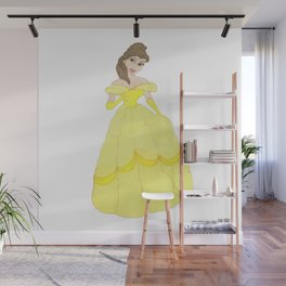 Princess Belle Wall Mural