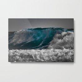 Wave Series Photograph No. 3 Metal Print