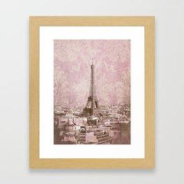 romantic Paris 2 Framed Art Print