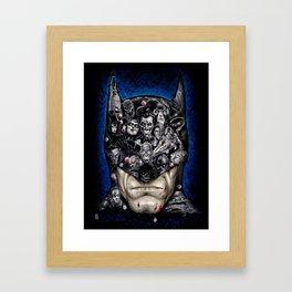 I Am Vengeance Framed Art Print
