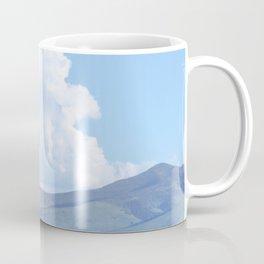 """Blue Windmill Blue Sky"" by Murray Bolesta Coffee Mug"