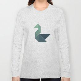 Tangram / Swan Long Sleeve T-shirt