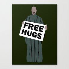 Free hugs Lord Voldemort Canvas Print