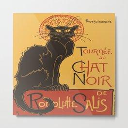 Tournee du Chat Noir De Rodolphe Salis Vector Metal Print