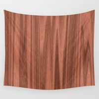 wooden Wall Tapestries featuring Wooden Structure  by MehrFarbeimLeben
