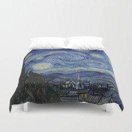 THE STARRY NIGHT - VAN GOGH Duvet Cover