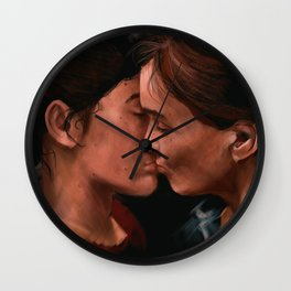 They Should be Terrified of You Wall Clock