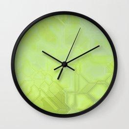 future fantasy radioactive Wall Clock
