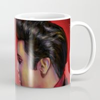 persona Mugs featuring The King by Chuck Jackson