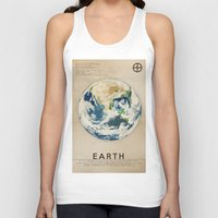 earth Tank Tops featuring Earth by Heather Landis