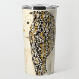 yellow rasta Travel Mug