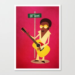 Bobby Womack | 110th Street Canvas Print