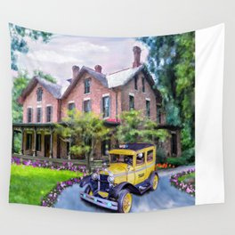 Rutherford B. Hayes Taxi Wall Tapestry