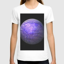 Globe16/For a round heart T-shirt