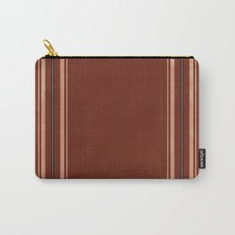 Brown Poncho Pattern Carry-All Pouch