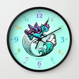 Kyrie: Tell-time clock Wall Clock