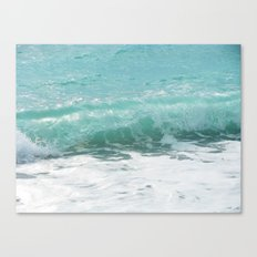 Curled Wave Canvas Print