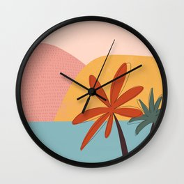 sea side Wall Clock