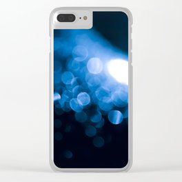 Nighttime macro Clear iPhone Case