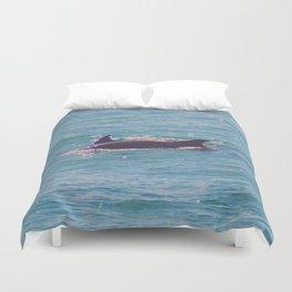 Dolphin Dorsals Duvet Cover
