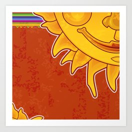 Sunny Arizona Art Print