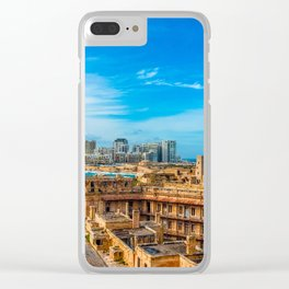 Europe Landscape Clear iPhone Case