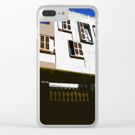 Barcelona Window's Clear iPhone Case