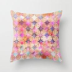 Bohemian Night Skye (Peach) Throw Pillow