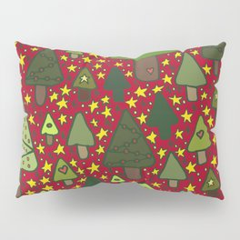 Small Trees Pillow Sham