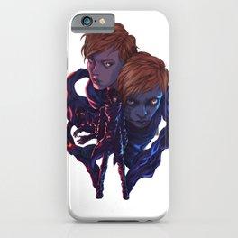 Lara and Leon iPhone Case