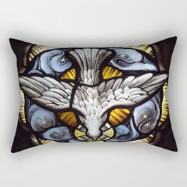 As a dove Rectangular Pillow