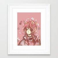 leon Framed Art Prints featuring Leon by MilkNCreams