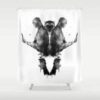 watchmen Shower Curtains featuring Watchmen by Laura O'Connor