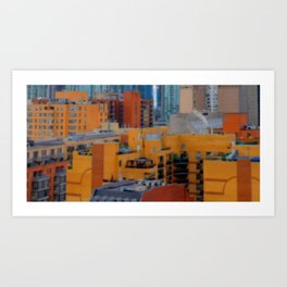 Urbanization No.1 Art Print