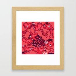 DIE HEART Framed Art Print
