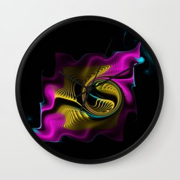 Whispers in the Night Wall Clock