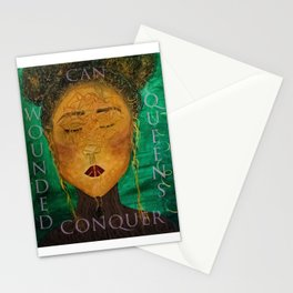 Wounded Queens Conquer Stationery Cards